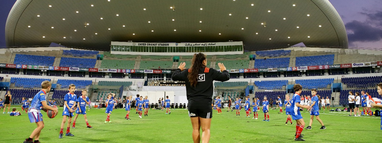 Abu Dhabi Cricket Hosts New Zealand's Rugby 7s Champions For Week Long Training Camp