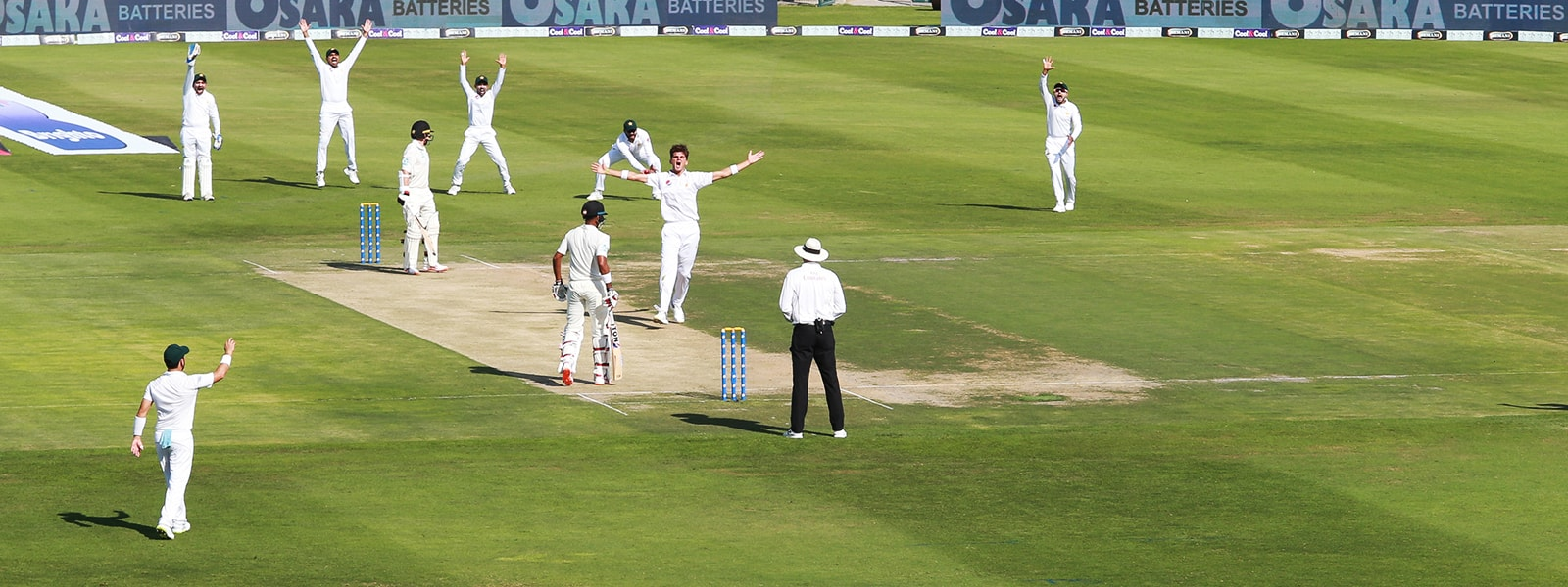Kiwi's Buckle Before Lunch As Shah Rips Through Top Order
