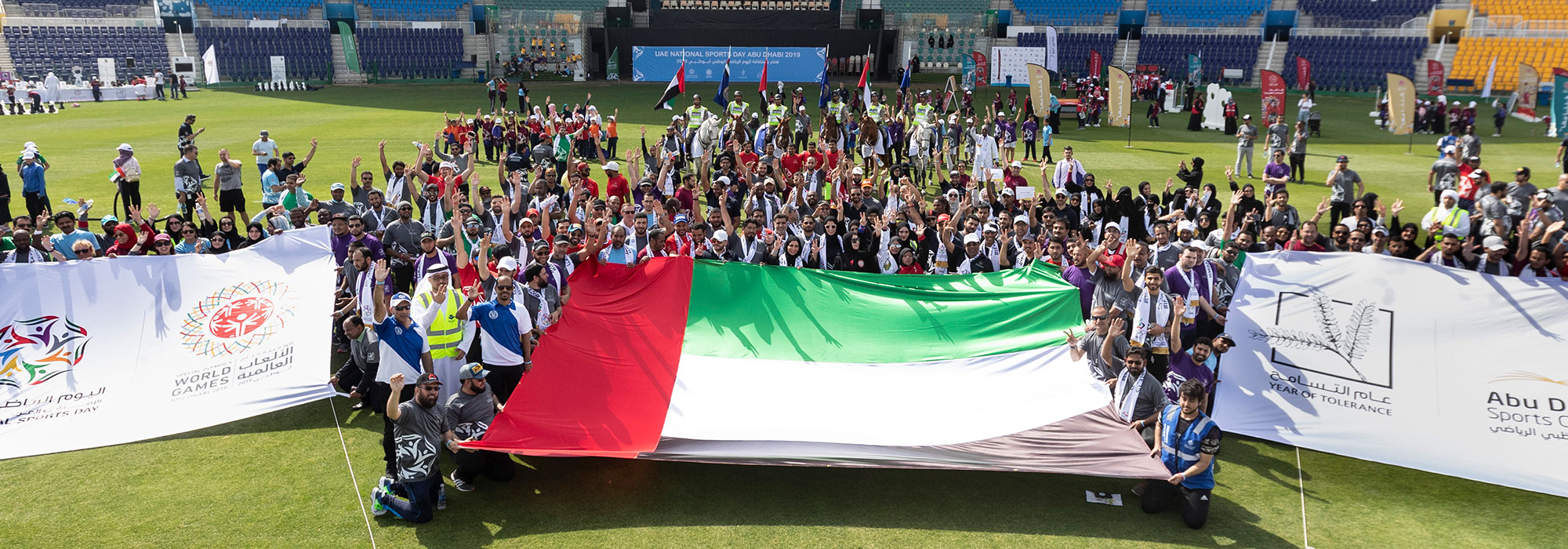 Over 6,000 Community Sports Enthusiasts Descended On Abu Dhabi Cricket For UAE National Sports Day
