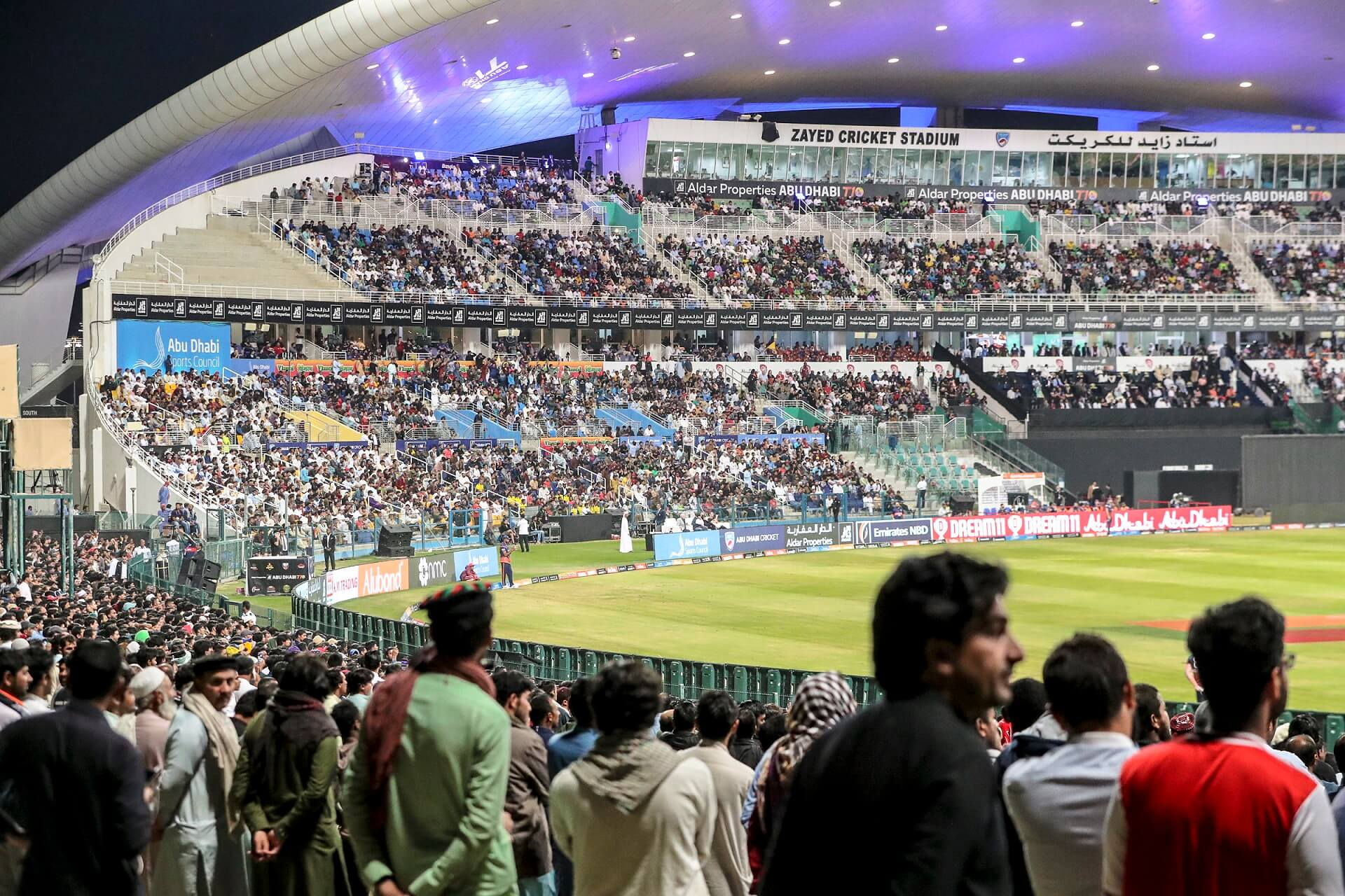 ALDAR PROPERTIES ABU DHABI T10 A HUGE SUCCESS WITH RECORD SMASHING 120,000 FANS ATTENDING THE 2019 SPORTING  SPECTACLE
